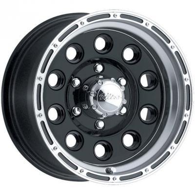 185SB Baja Champ - Satin Black Tires